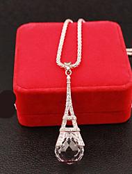 Russana Women's Long Diamante Necklace
