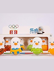 Lucky Cartoon Mascot Toy for Children Sports Toys Furnishing Articles Doll Chick Sports  Figures