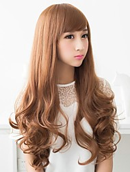 Fashion Hair Long Wavy Synthetic Full Bang Wigs