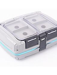 прозрачный пластик водонепроницаемый крючки приманки рыбалка коробка рыболовные снасти