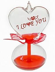 créative en forme de coeur je t'aime thermomètre cadeau