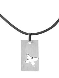 Mode aushöhlen Schmetterling Männer Halskette (1 PC)