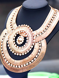 Moon Year Women's  Diamante Multilayer Necklace