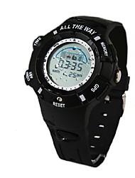 alle way® ons chip gps horloge tracker waterdicht kompas temperatuur hoogtemeter snelheidsmeter navigatie