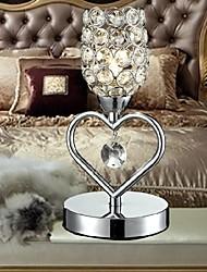 beso ángel de escritorio de cristal K9 lámpara de mesa de cristal de las lámparas de noche salón oficina mini luces de mesa