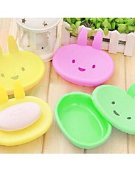 The Rabbit Soap Box Shape(Random Color)