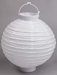 чистый белый поделки живопись фонарь Holloween украшения (лампа исключены)
