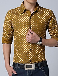 Men's Long Sleeves Cotton Shirt