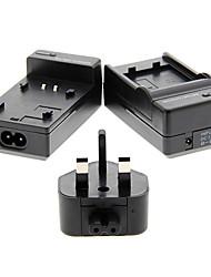 4.2V Battery Charger+ UK Plug+ Battery Charger for GE(Vivitar) BG-20(Input 100V/240V,Output 4.2V/600mA)