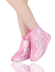 PVC Women's Shoes Covers for Rainy Day One Pair