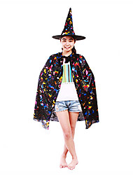 Colorful Wizard&Witch Clothing Holloween Apperal Set Of 2