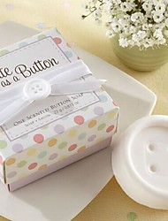 Holiday Gifts Mini Button Shape Soap (Random Color)