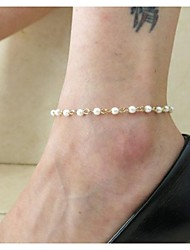 Women's Fashion Handmade Beads Anklets