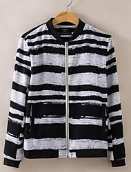 Men's Fringe Round Neck Sweater
