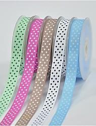 5/8 Inch Polyester Rib Belt Printing Ink Dot Four Oblique Dot Ribbon-10 Yard Each Bag