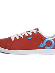 Chaussures homme ( Bleu/Rouge ) - Simili Cuir - Marche