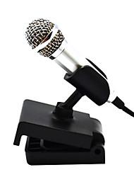 creatieve mini condensator microfoon met standaard voor zang opname