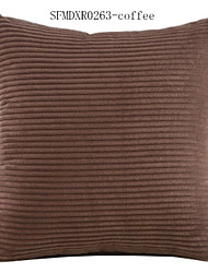 Polyester Pillow Cover , Solid Casual