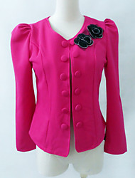 Women's Suits & Blazers , Cotton Casual/Work Jushang