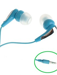 3.5mm jack in-ear oortelefoon voor iphone / ipod / HTC / Samsung (110cm)