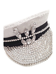 luxe strass Newfangled occasion / chapeau spécial de stade