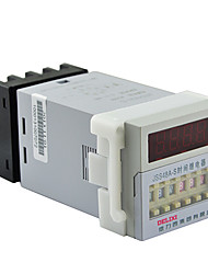 Digital Time Relay 0.1S-99H 1.5A AC220V DELIXI ELECTRIC JSS48A-S