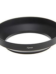 72mm métal lentille grand-angle universel hotte
