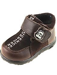 scarpe ragazzi 'Comfort tallone piano boots bovina caviglia