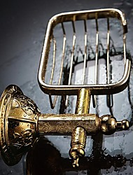 Antique Ti-PVD Wall Mount Soap Dish Holder