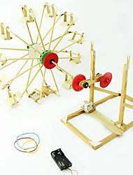 rueda de la fortuna bricolaje de manualidades de madera juguetes de la novedad