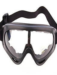 X400 Outdoor Sports Racing Glasses Dust Wind Tactical Goggles Ski Grey Lenses