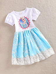 confortable jolie robe d'enfant Xiyan