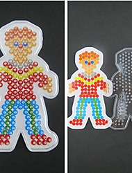 1PCS Template Clear Perler Beads Pegboard Boy Son Pattern for 5mm Hama Beads Fuse Beads