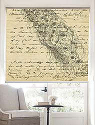 página retro palabras con elegante pavo real persiana fondo