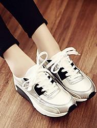 Chaussures femme ( Noir/Blanc ) - Simili Cuir - Marche