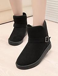 AMINGNA  Women's Lmitation Rabbit Fur Fox Fur Snow Boots Shoes