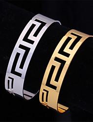 Bracelet plaqué or 18k trapu du platine U7 cru femmes