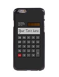 """calculateur personnalisé cadeau cas design en métal pour iPhone 6 (4.7 """")"""