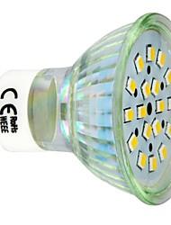 Lâmpada de Foco GU10 3 W 260 LM 3000 K Branco Quente 18 SMD 2835 AC 220-240 V