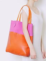 una variedad de colores bolso de mano de la moda
