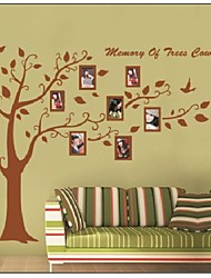 ZOOYOO®rremovable colorful tree and photo frame wall sticker home decor Decal Art Mural wall stickers Home Decor