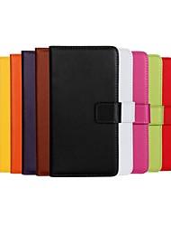 Pour Coque Nokia Portefeuille Porte Carte Avec Support Coque Coque Intégrale Coque Couleur Pleine Dur Cuir PU pour Nokia Nokia Lumia 930