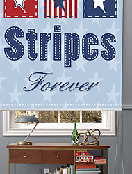 Star Stripes With Bule Star Background Roller Shade