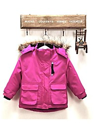 Outdoor Kid's Tops / Winter Jacket Skiing / Camping & Hiking / Fishing / Snowsports / Downhill / Backcountry / SnowboardingWaterproof /