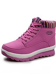 pattini delle donne di conforto tacco basso scarpe da ginnastica di moda in pelle con pizzo-up scarpe casual più colori disponibili