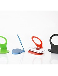 faltbare mobile Handy Wandhalter Kapselhalter Kabel Veranstalter (zufällige Farbe)