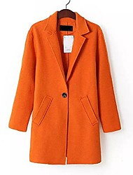simples moda outerwear puro das mulheres