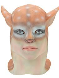 SYVIO alto grado de belleza de látex de Halloween máscara de cabeza de los ciervos del slip-on
