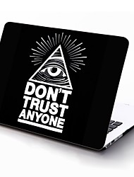 Don't Trust Anyone Design Full-Body Protective Plastic Case for 11-inch/13-inch New MacBook Air