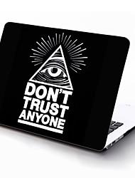 ne fait confiance à personne concevoir complet du corps étui de protection en plastique pour 11 pouces / 13 pouces nouveau MacBook Air